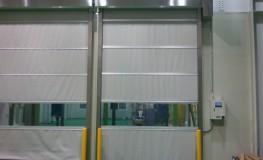 일반형 고속자동문(연회색 시트 사용)